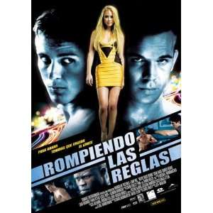 Spanish 27x40 Sean Faris Djimon Hounsou Amber Heard