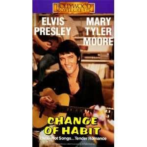 Change of Habit [VHS] Elvis Presley, Mary Tyler Moore, Barbara McNair