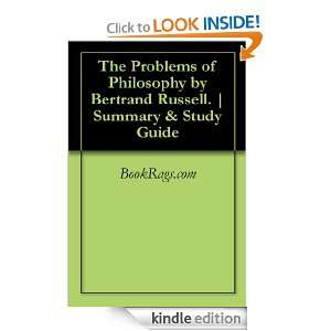 Problems of Philosophy by Bertrand Russell.  Summary & Study Guide