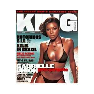 Issue (Gabrielle Union Cover) (Single Issue): King Magazine: Books