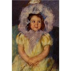 Margot in White by Mary Stevenson Cassatt, 17 x 20 Fine