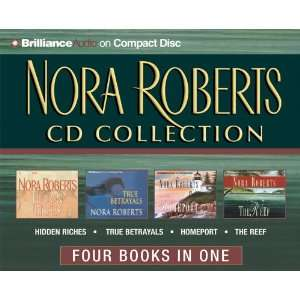 Nora Roberts CD Collection  Hidden Riches, True Betrayals, Homeport