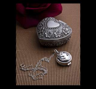 Vampire Diaries Elenas Antique Bright Pendant Necklace Silver verbena