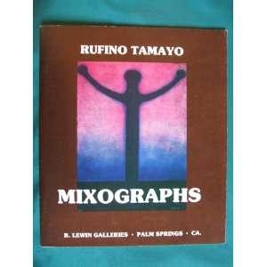 Plates of Handmade Paper Mixographs): Rufino Tamayo:  Books