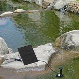 Solar Brushless Water Pump For Pond Rockery Fountain B
