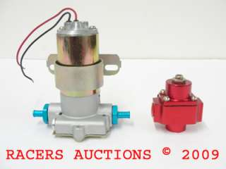 Pro Comp High Performance Electric Fuel Pump And Pressure Regulator