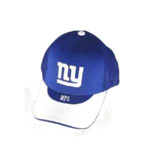 officially licensed national football league ny giants team logo cap