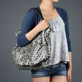 Animal Print Leopard Unique Shoulder Bag Large Tote New