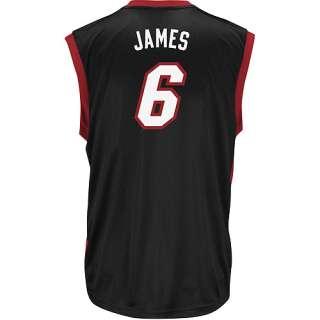 NBA   Mens Miami Heat #6 LeBron James Jersey