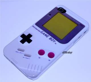 Iphone 4 Nintendo GAME BOY Hard Case + Full Protector