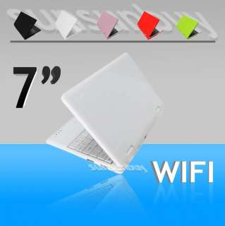 new 7 mini laptop notebook wifi windows 2gb hd white