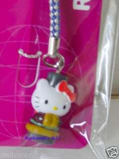 Sanrio Russia Hello Kitty Cell phone Charm Cellular NEW