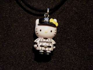 Cute Hello Kitty Baseball Pendant Necklace Charm