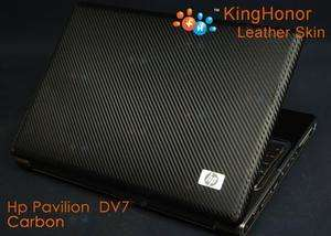 Original KH Special Laptop Cover SKin Carbon Fit HP Pavilion DV7