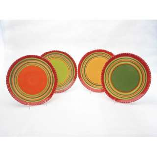 International Hot Tamale Dinner Plates (Set of 4)