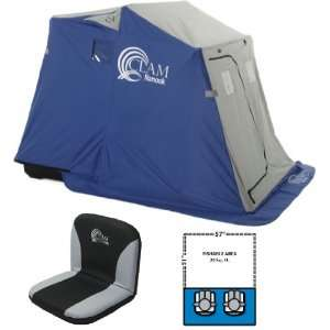 Clam Nanook   2 Man Ice Fishing Shelter House   9025