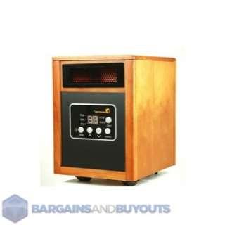 Dr. Heater USA 1500W Dual System Portable Quartz Infrared Heater