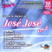 Latin Stars Karaoke CDG #395   Jose Jose Vol. 6