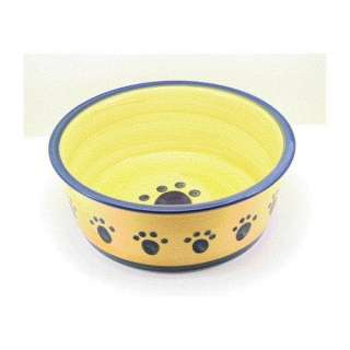 Ethical Pet Classic Paw Print Dish in Blue Dogs