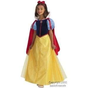 Childs Snow White Disney Halloween Costume (Size Large 7