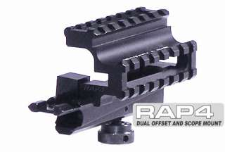 RAP4 Paintball Spyder MR2 Offset Scope Mount Kit