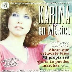 com Karina En Mexico (Sus Mejores Canciones Para Disco Karina Music
