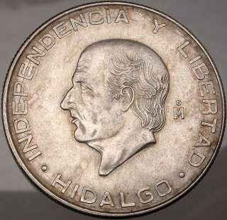 1956 Hidalgo father of MEXICO5 PESO Mexican Silver Coin