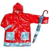 Western Chief Toddler/Little Kid Hello Kitty Jacket and Umbrella Set