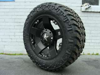 Black 295/65R20 Nitto Trail MT 35.5 mud tires Dodge Chevy Ford