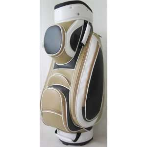 JGolf Ladies Classic Golf Cart Bags   Classic Mocha