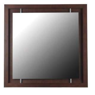 Kenroy Home Potrero Wall Mirror in Mahogany Decor