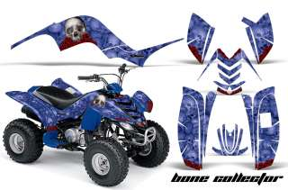 AMR RACING QUAD ATV GRAPHIC STICKER DECAL KIT STICKER YAMAHA RAPTOR 80