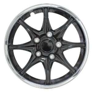 Pilot WH522 16C B Black Chrome 16 Wheel Cover Automotive
