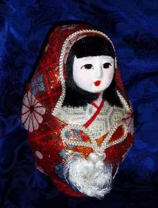 Female Vintage Japanese Wedding HAKATA Dolls w. Kimono