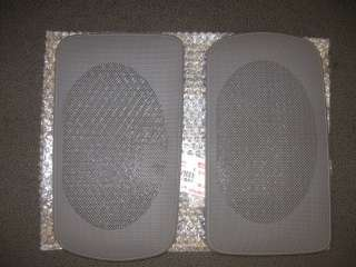 2002   2006 Camry rear speaker grille covers GRAY new