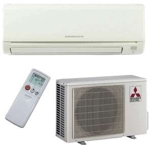 Mitsubishi MR.SLIM Ductless Mini Split Air Conditioner SEER 13 COOL