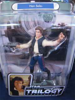 Star Wars Trilogy Collection Han Solo Figure Sealed