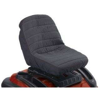 Cover, Small, Black Classic Accessories Deluxe Tractor Seat Cover