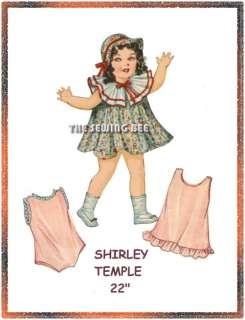 1A Shirley Temple Doll Wardrobe Pattern 22