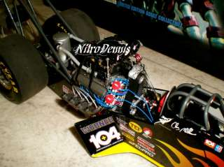 NHRA CLAY MILLICAN 1:16 Milestone Top Fuel Dragster 104