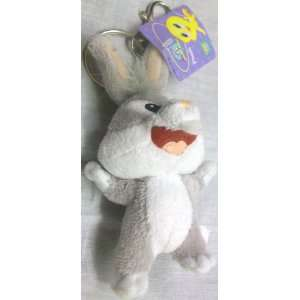 Baby Looney Tunes 4 Bugs Bunny Plush Keychain Key Chain