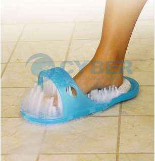 1xEasy Feet Foot Scrubber Brush Massager Bathroom Clean