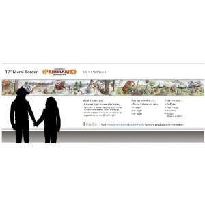 KIDS & TEENS MURAL BORDERS Wallpaper  BA 3015 XL2 Wallpaper: Baby