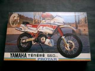 Protar 1/9 Yamaha Tenere 660 c.c Paris Dakar Rally #198