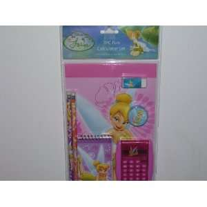 Disney Fairies Tinker Bell 7pc Fun Calculator Set Toys & Games