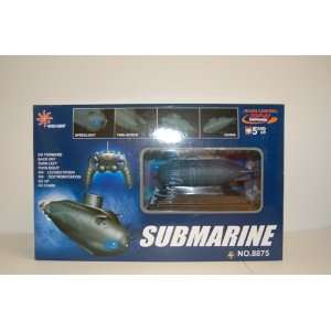 8875 Electric Mini Radio Control Submarine LED light Toys & Games
